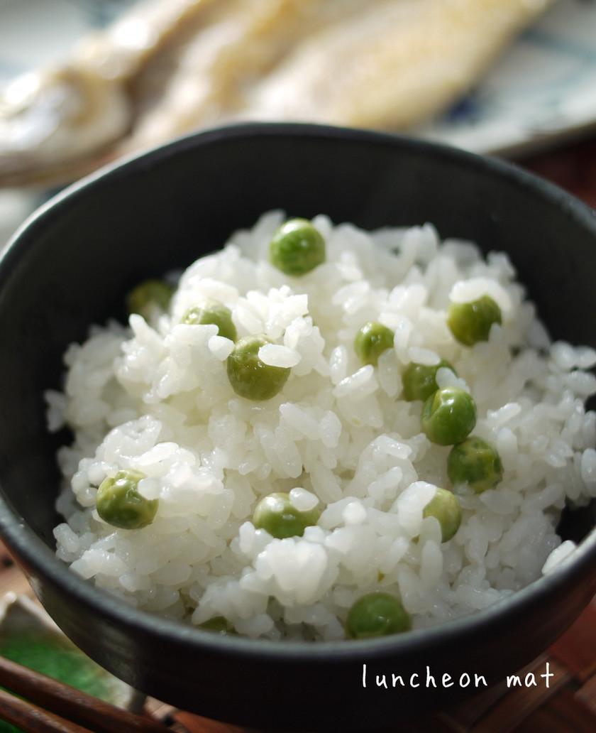 春色豆ご飯☆グリンピースご飯♪