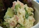 レンジで簡単お弁当にポテトサラダ