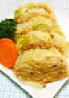 鶏ひき肉と白菜のレンジ蒸し
