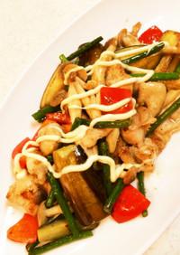 簡単!鶏肉と彩り野菜のソテー♪