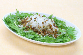 大根サラダ からふるカレードレッシング