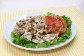 豚しゃぶサラダ カレーソース