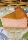 *苺のベイクドチーズケーキ*