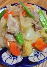 一つの鍋で中華飯