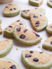 スイカのアイスボックスクッキーの写真
