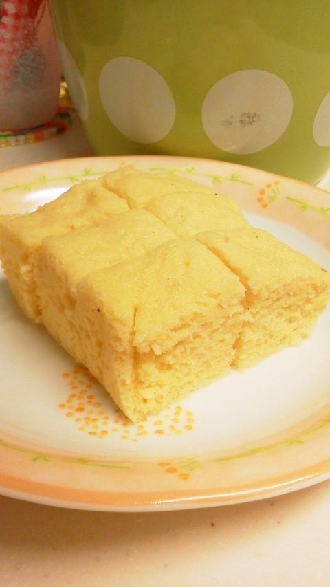 おからパウダーで☆おからシフォンケーキ