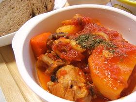 鶏手羽元と野菜のゴロゴロ煮