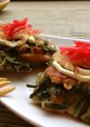 蕨&納豆✿とろふわお好み焼き✿