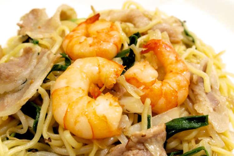 上海 焼きそば レシピ 【みんなが作ってる】 上海焼きそば 本格のレシピ