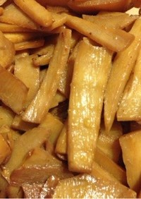 メンマ風 タケノコの中華炒め
