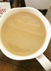 ホット♡ミルクティコーヒー酒