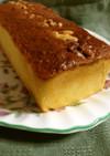 市販の栗の甘露煮で簡単ブランデーケーキ