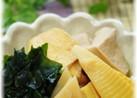 重曹で美味♡たけのこと高野豆腐の煮物
