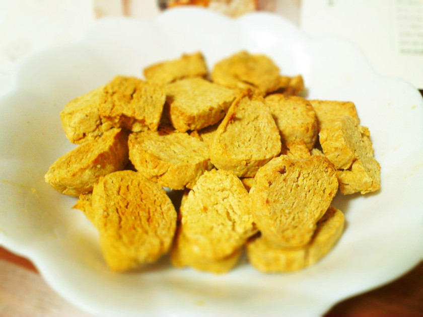 ヘルシー混ぜて焼くだけ大豆きなこクッキー