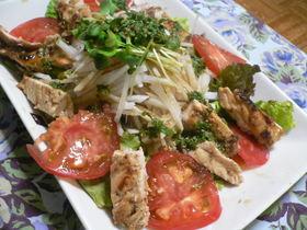 鶏胸肉のシャキシャキサラダ