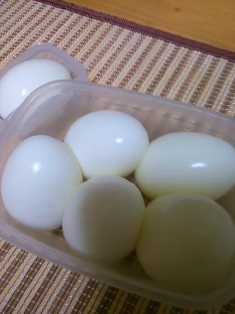 茹で卵・うずらの卵の茹で方・作り方