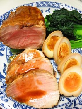 圧力鍋なしでも作れる簡単煮豚&煮玉子☺