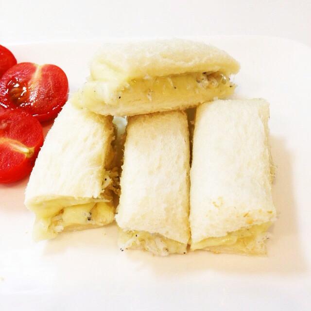 離乳食後期〜完了期☆しらすチーズトースト