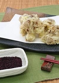 まいたけ天ぷら 赤しそ風味 つけ塩タイプ