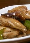 手羽中と野菜の甘酢炒め煮
