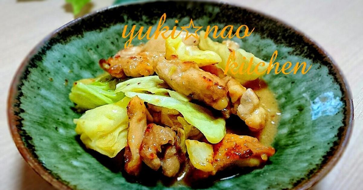 キャベツ 鶏肉