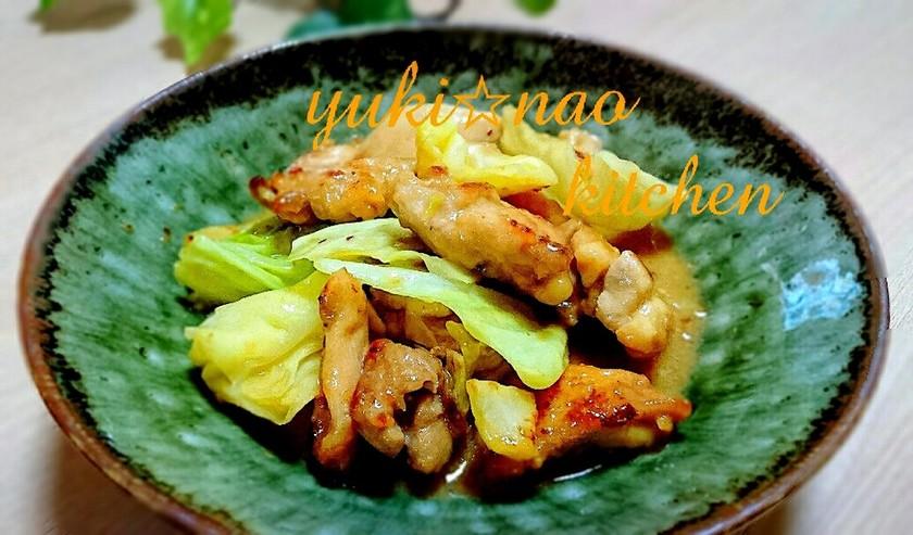 ☆鶏ももキャベツの味噌マヨガーリック☆