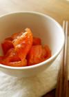 トマトの梅おかか和え
