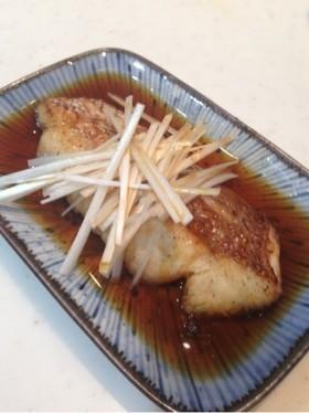 鯛の中華風酒蒸し♡熱々ゴマ油がけ