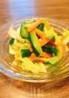 常備菜にも♪野菜たっぷり中華サラダ