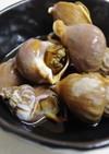 海育ちの旦那が大好き!バイ貝の煮付け♪