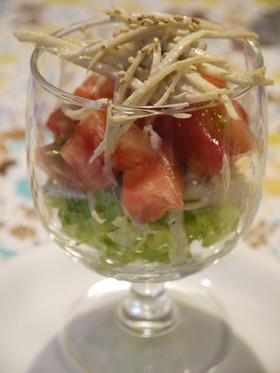 簡単☆おしゃれゴボウサラダ