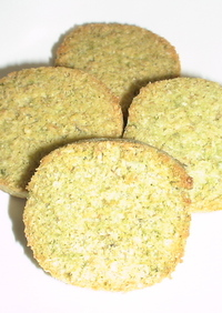 ダイエット☆おからクッキー(大麦若葉)