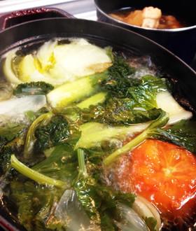 アレンジの効く香味野菜のスープ♪