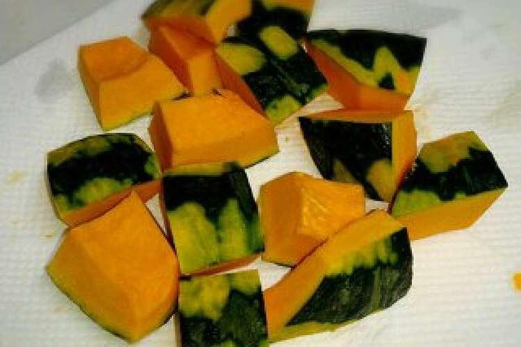 皮 かぼちゃ の
