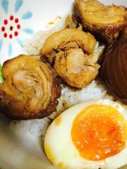 簡単!炊飯器で鶏肉チャーシューの写真