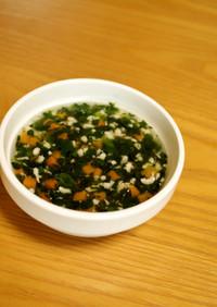 離乳食*中期~『茶碗蒸しの野菜あんかけ』