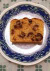 果実の甘さ☆デーツのパウンドケーキ