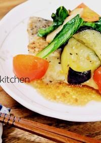 簡単っ!白身魚とお野菜のソテー