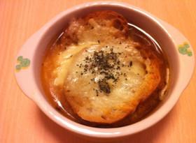 絶品*簡単 オニオングラタンスープ
