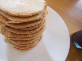 そうだ!全粒粉パンケーキ作ろう!