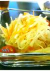 サラダ100選☆梅ごま油の大根サラダ