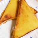 簡単!冷凍食パンでクッキーメロンパン