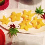 スターフルーツの切り方♡の写真