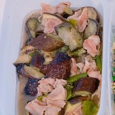 豚肉とナスの味噌煮