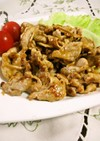 お弁当に✿豚肉の生姜オイスターマヨ炒め
