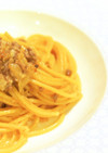 中華風 ラー油とひき肉のマヨネーズパスタ