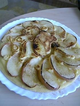 さっぱりんごとはちみつパンケーキ