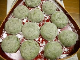 今年のヨモギ餅