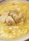 シンプル美味!ピリ辛和風中華スタミナ雑炊