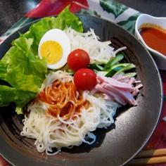 徳山冷麺でビビン麺♪